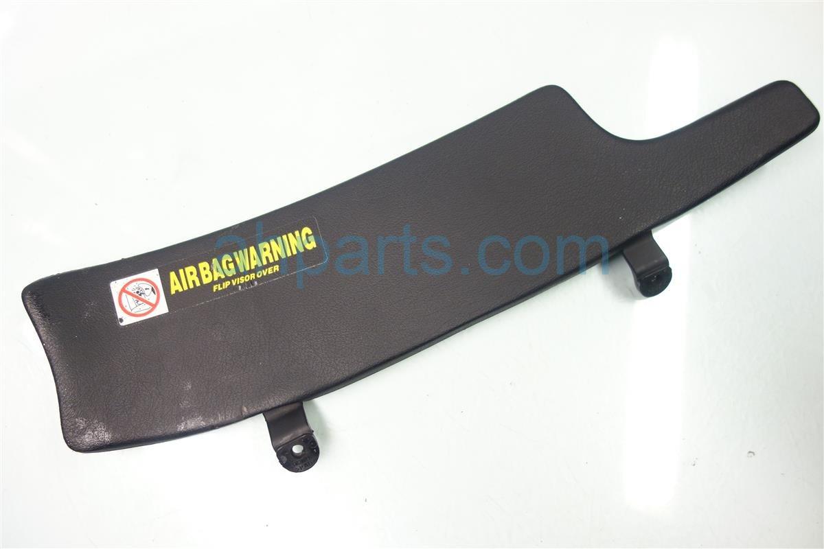 1999 Acura NSX Sun Driver VISOR Black 83280 SL0 A13ZA 83280SL0A13ZA Replacement