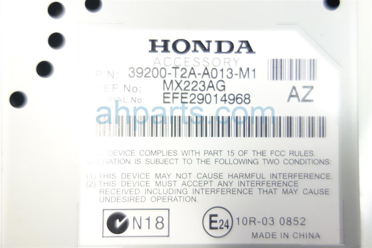 2014 Honda Accord ACTIVE NOISE UNIT 39200 T2A a01 39200T2Aa01 Replacement