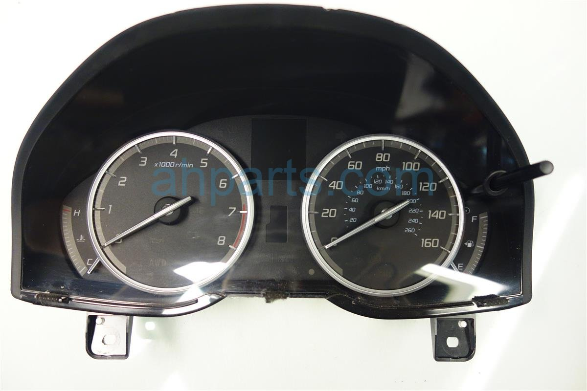 2013 Acura RDX Instrument Gauge Cluster SPEEDOMETER MILEAG 78100 TX5 A01 78100TX5A01 Replacement