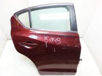 2013 Acura ILX 4DR Rear passenger DOOR CMPLET TRIM burgundy 67510 TX6 A90ZZ 67510TX6A90ZZ Replacement