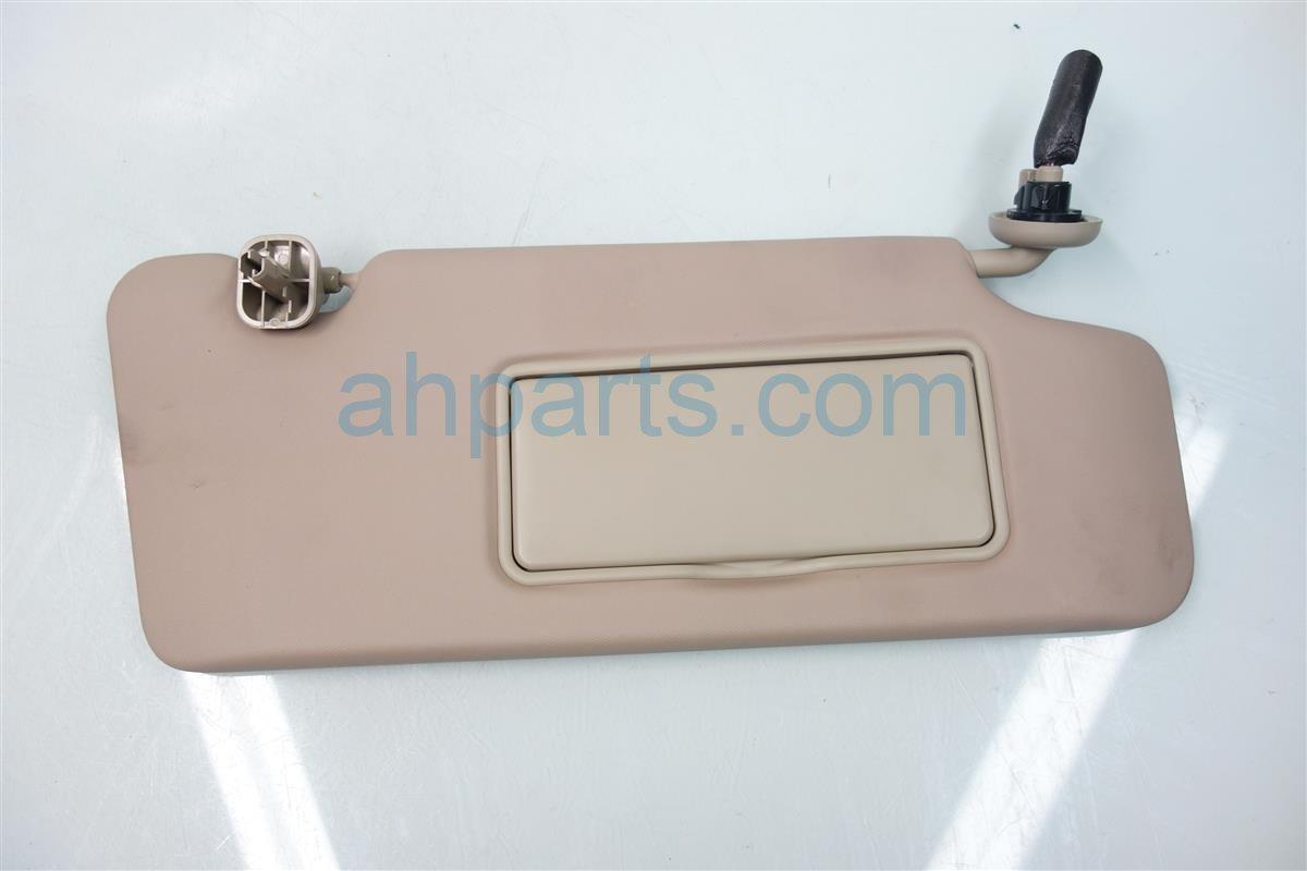 2013 Acura ILX Sun PASSENGER VISOR TAN 83230 TX6 A81ZA 83230TX6A81ZA Replacement
