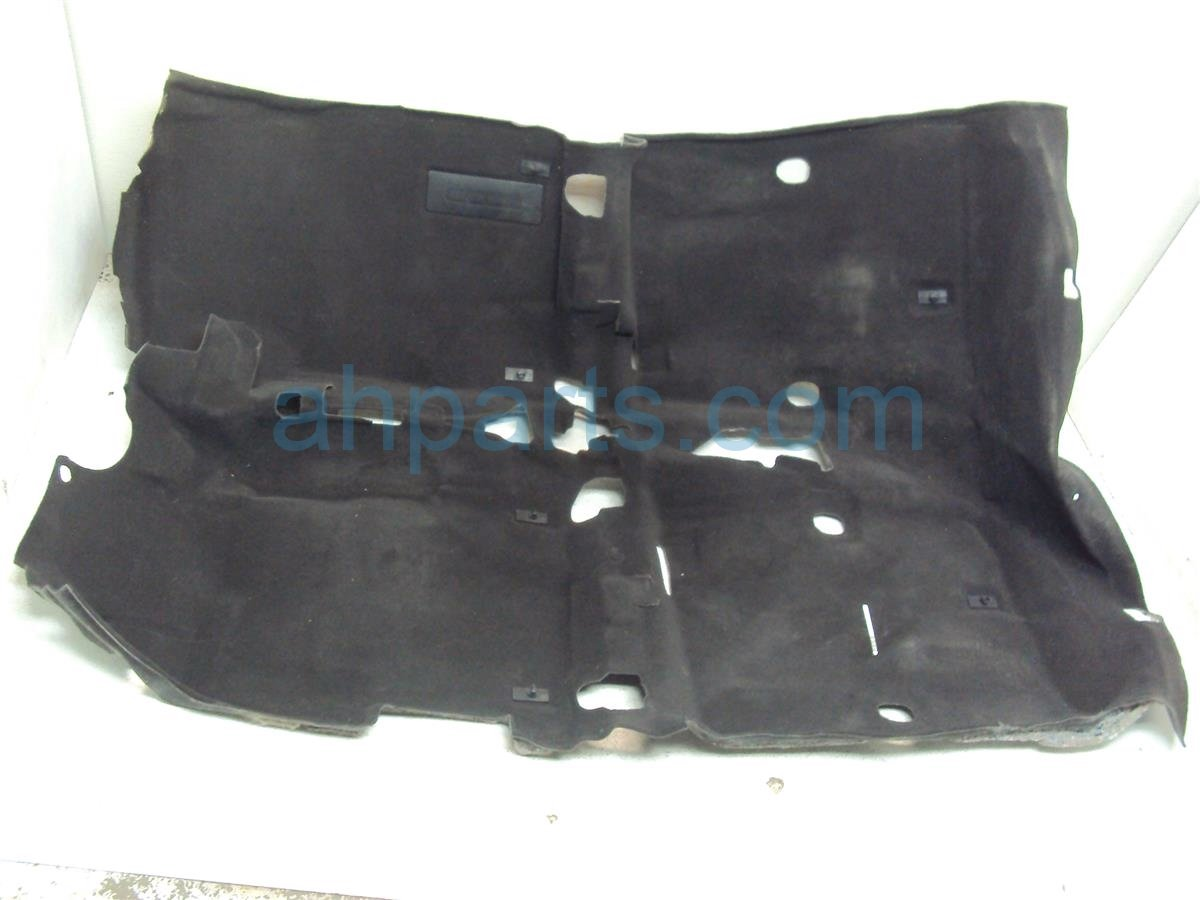 2013 Acura ILX Front ground FLOOR CARPET Black 83301 TX6 A21ZA 83301TX6A21ZA Replacement