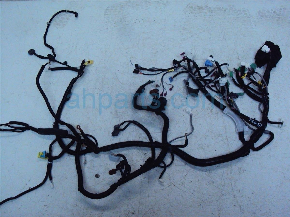 2015 Honda FIT INSTRUMENT HARNESS CUT 32117 T5R A00 32117T5RA00 Replacement