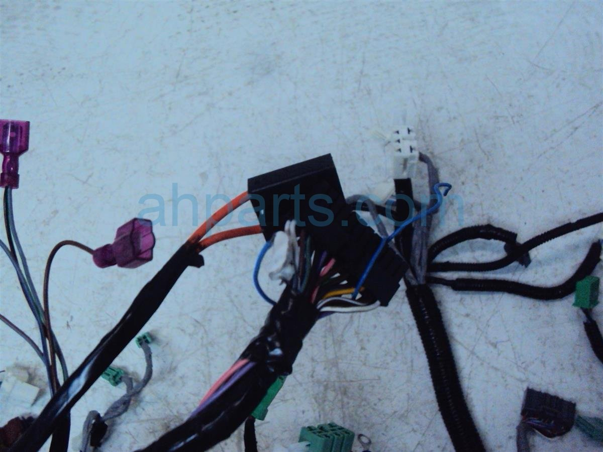 2015 Honda Fit Instrument Harness Cut 32117 T5r A00 Wiring Replacement