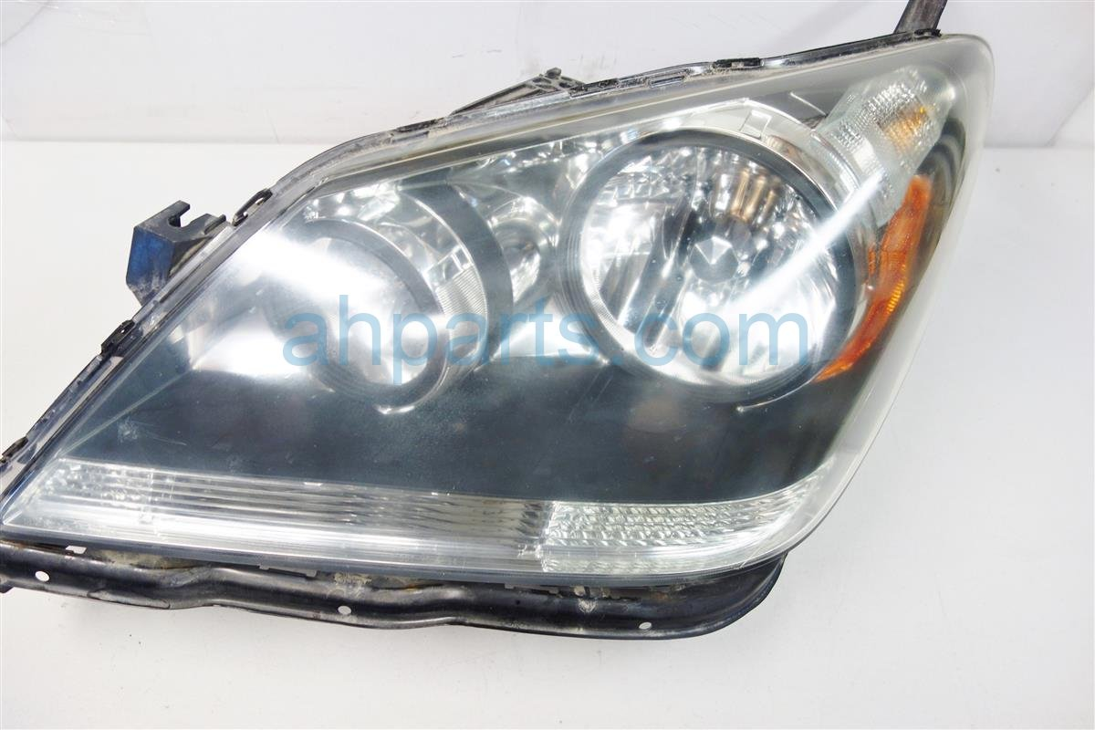2007 Honda Odyssey Headlight Head Driver H LAMP needs buff stress cracks 33151 SHJ A01 33151SHJA01 Replacement