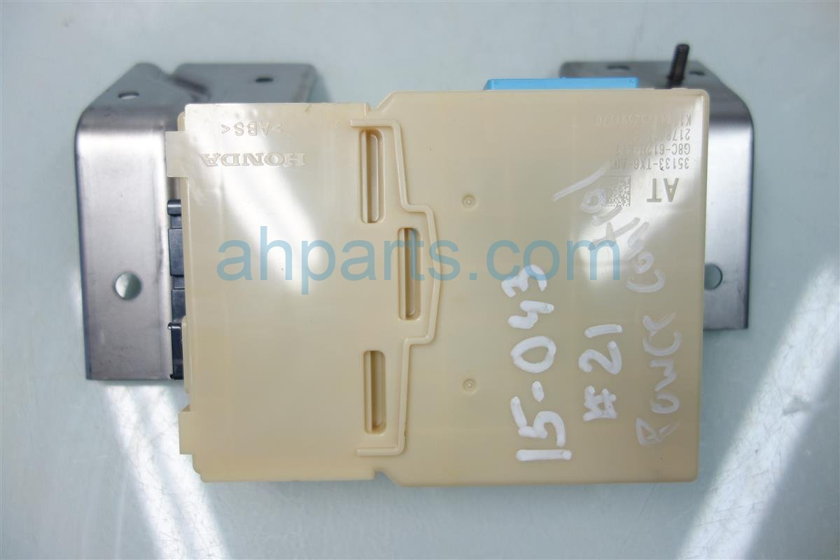 2013 Acura ILX POWER CONTROL UNIT 35133 TX6 305 35133TX6305 Replacement
