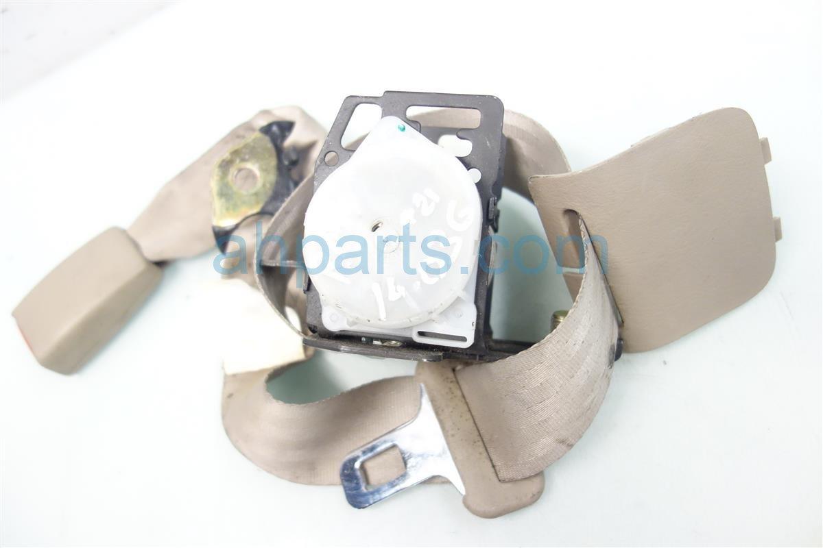 2007 Acura TL REAR CENTER SEAT BELT TAN 04823 SEP A01ZG 04823SEPA01ZG Replacement
