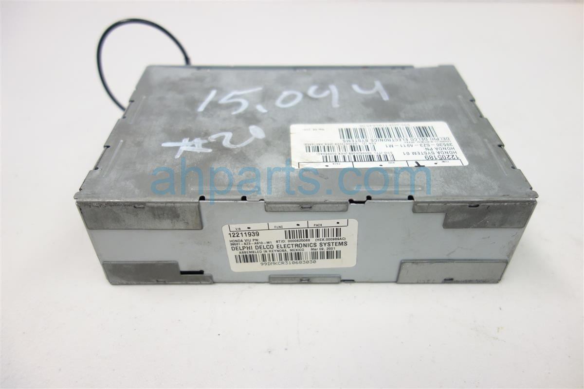 2002 Acura RL ON STAR PCM UNIT 39531 SZ3 A91 39531SZ3A91 Replacement