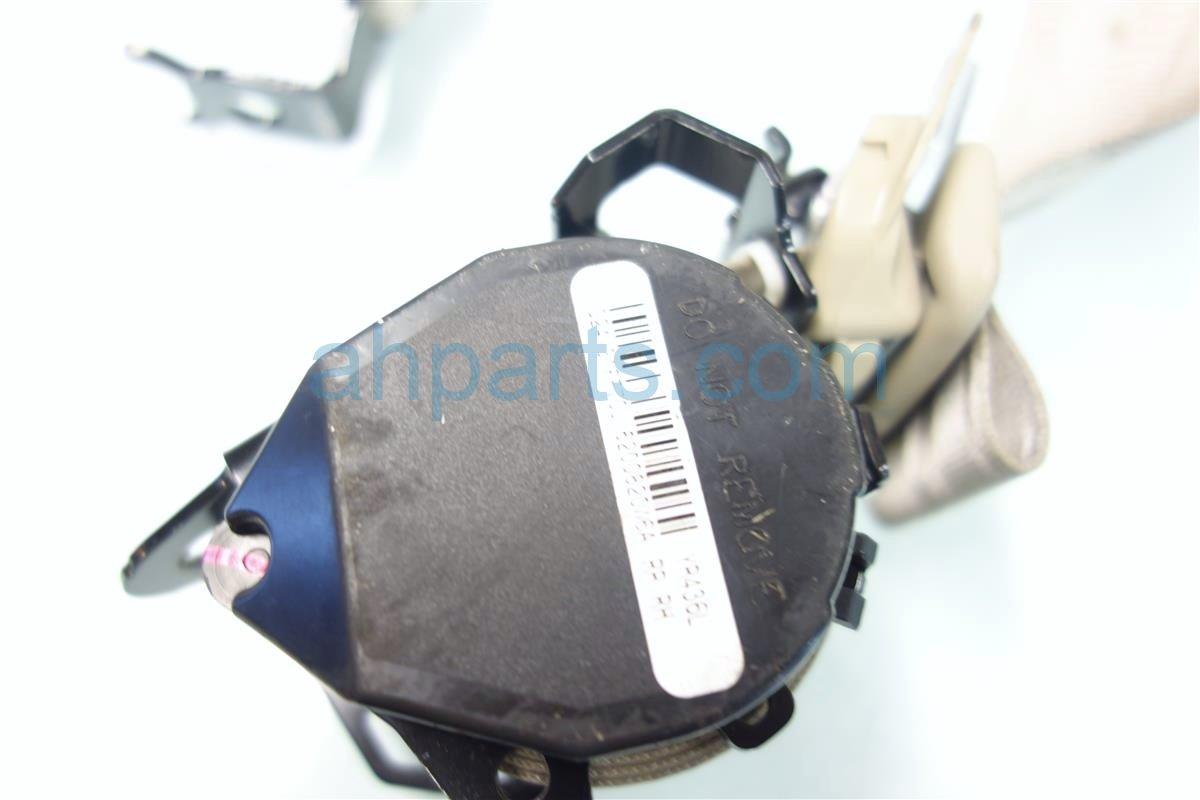 2013 Acura RDX Rear passenger SEAT BELT TAN RETRACTS 04824 TX4 A00ZA 04824TX4A00ZA Replacement