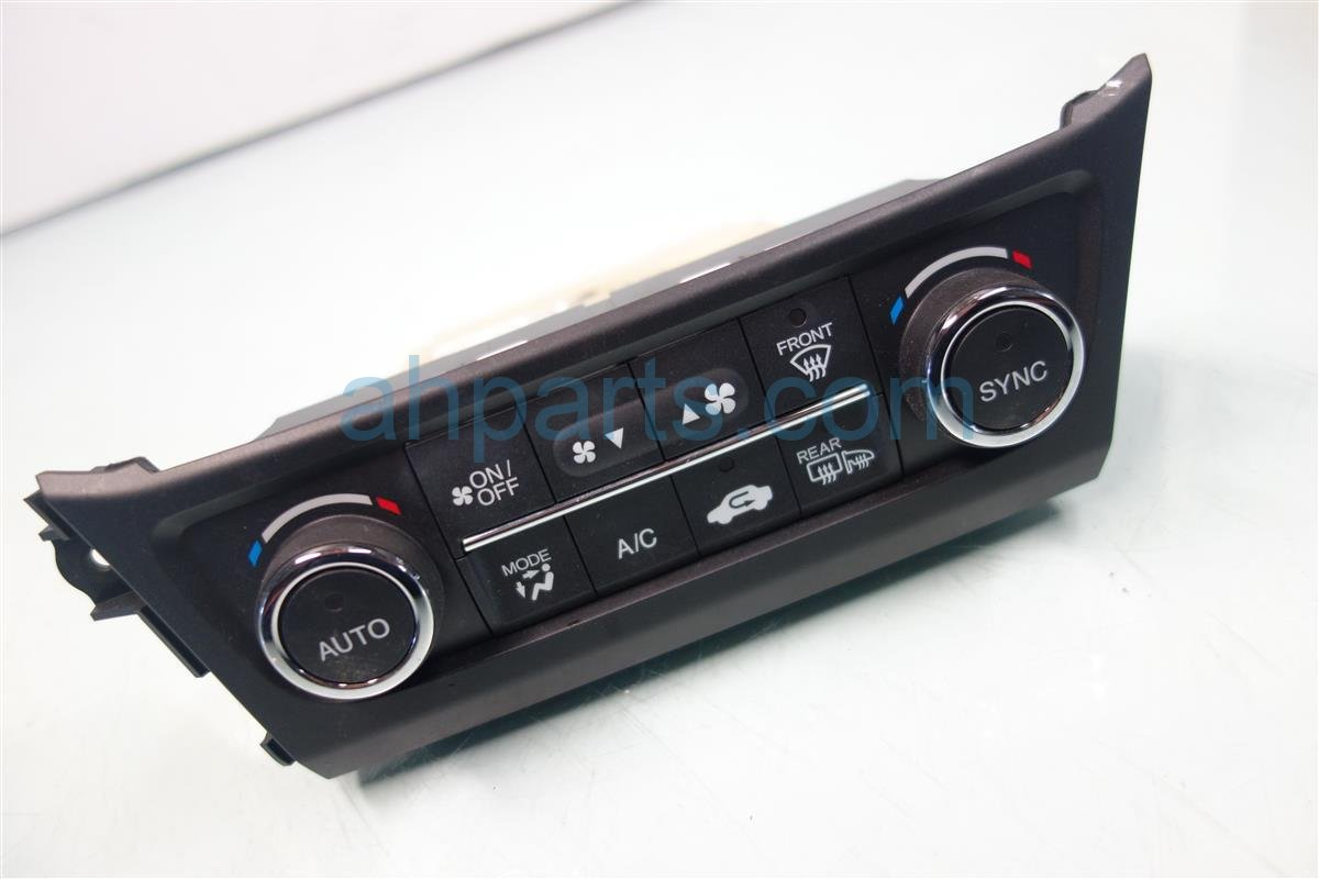 2014 Acura ILX Temperature Climate AC heater control TEMP CONT ON DASH Replacement