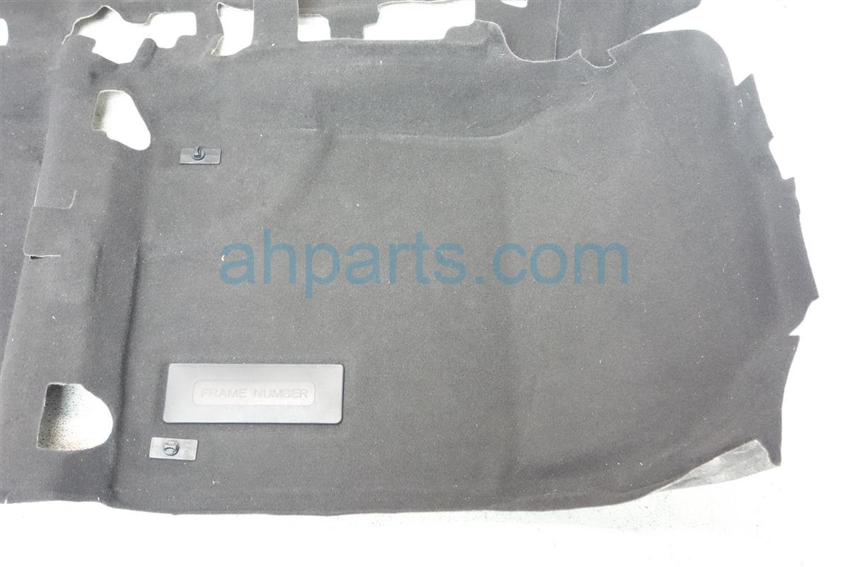 2014 Acura ILX Ground FRONT FLOOR CARPET black 83301 TX6 A21ZA 83301TX6A21ZA Replacement