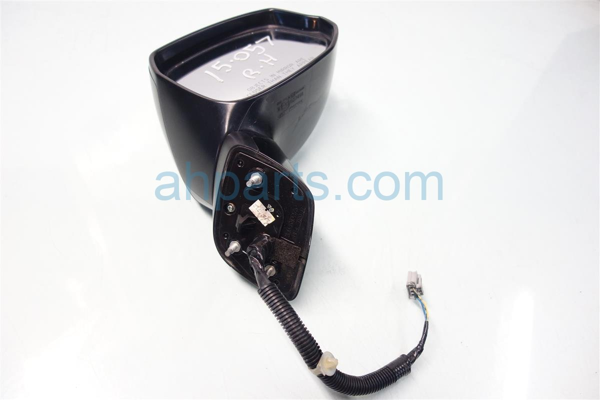 2012 Honda Civic Side Rear View PASSENGER MIRROR BLACK 76208 TR0 A01 76208TR0A01 Replacement