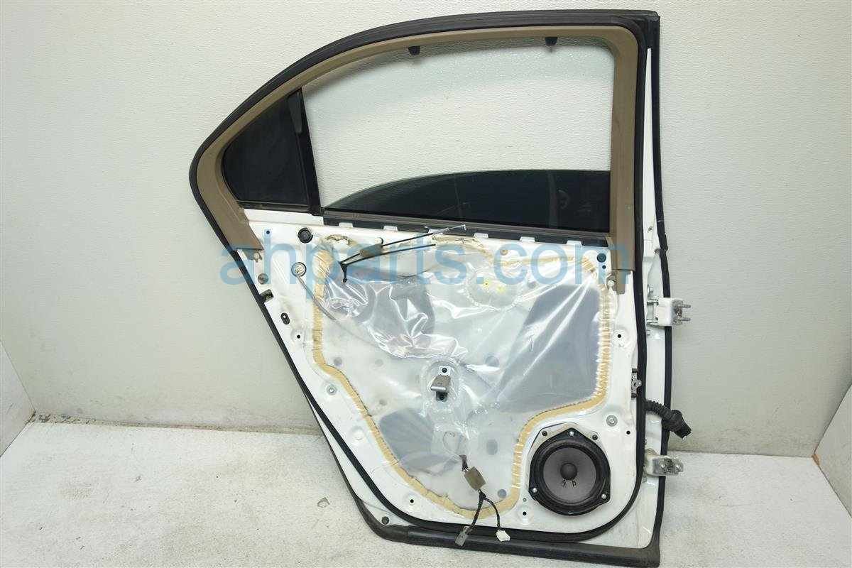 2005 Acura RL Rear driver DOOR SHELL ONLY white 32754 SJA A00 32754SJAA00 Replacement
