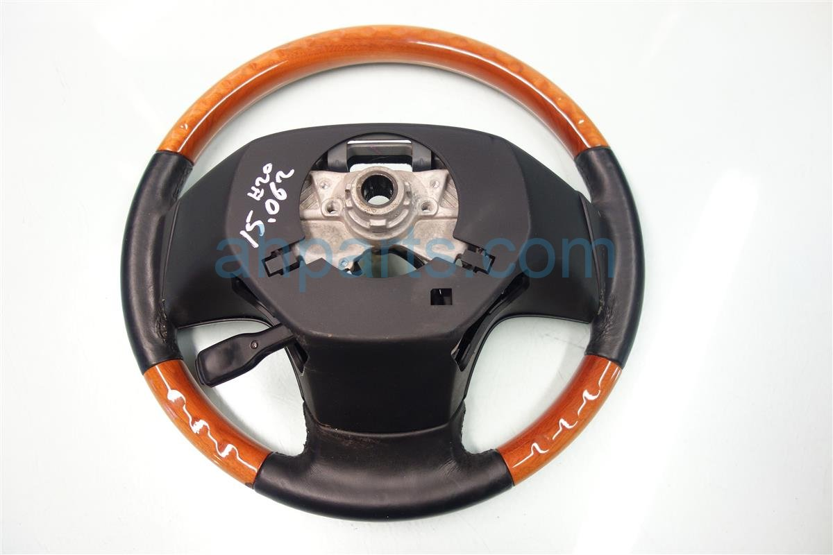 2010 Lexus Rx350 STEERING WHEEL black wood grain 45100 0E310 451000E310 Replacement