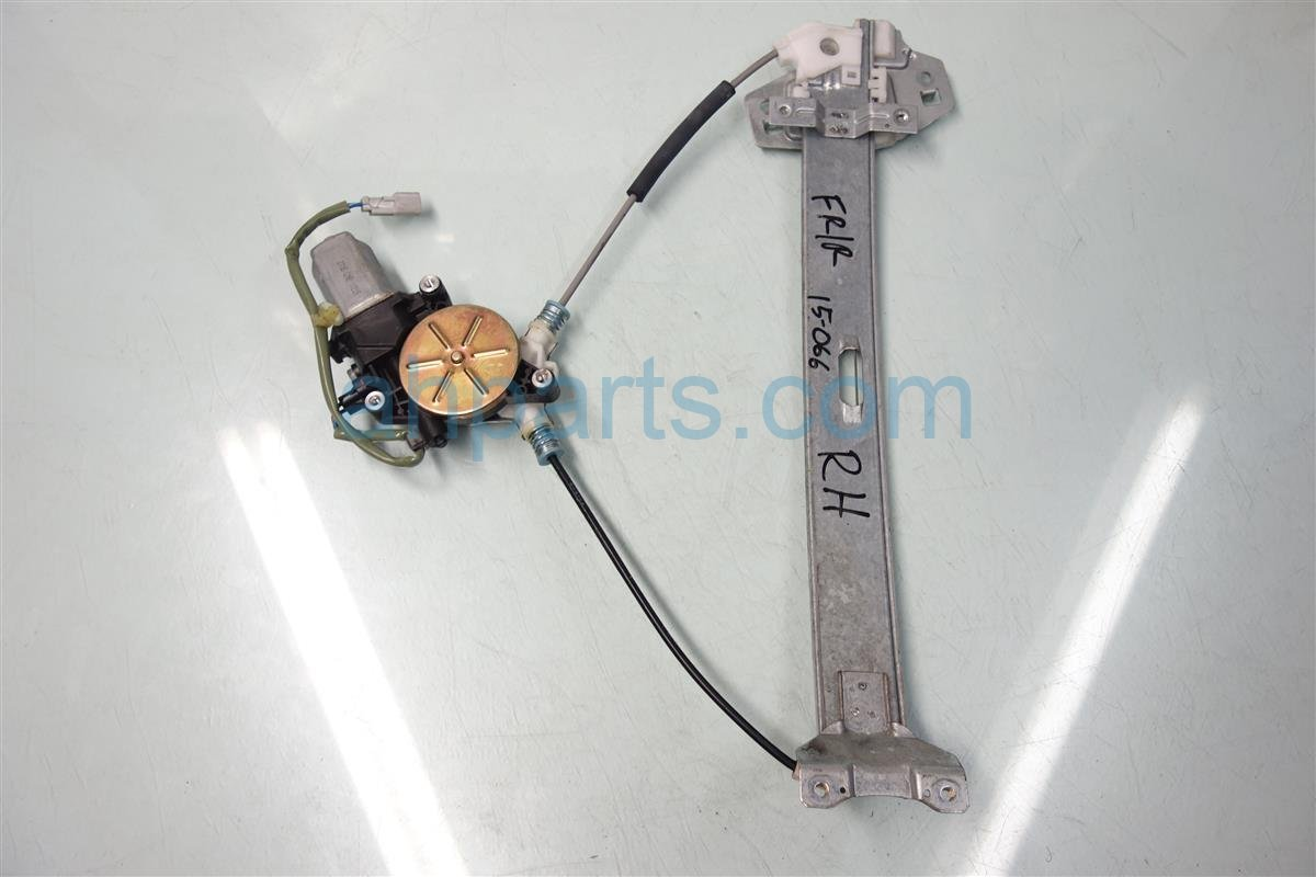 2001 Acura CL Front 2DR Passenger WINDOW REGULATOR MOTOR 72210 S3M A03 72210S3MA03 Replacement
