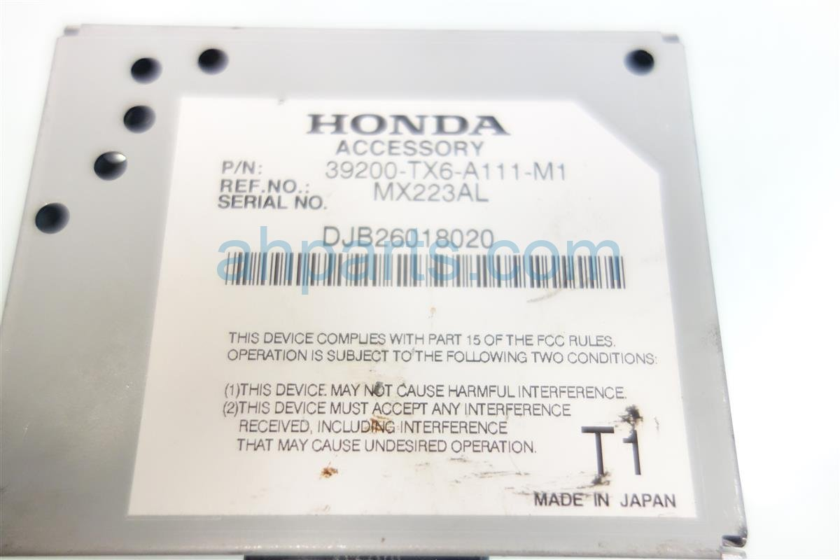 2014 Acura ILX ACTIVE NOISE CONTROL UNIT 39200 TX6 39200 TX6 A11 39200TX6A11 Replacement