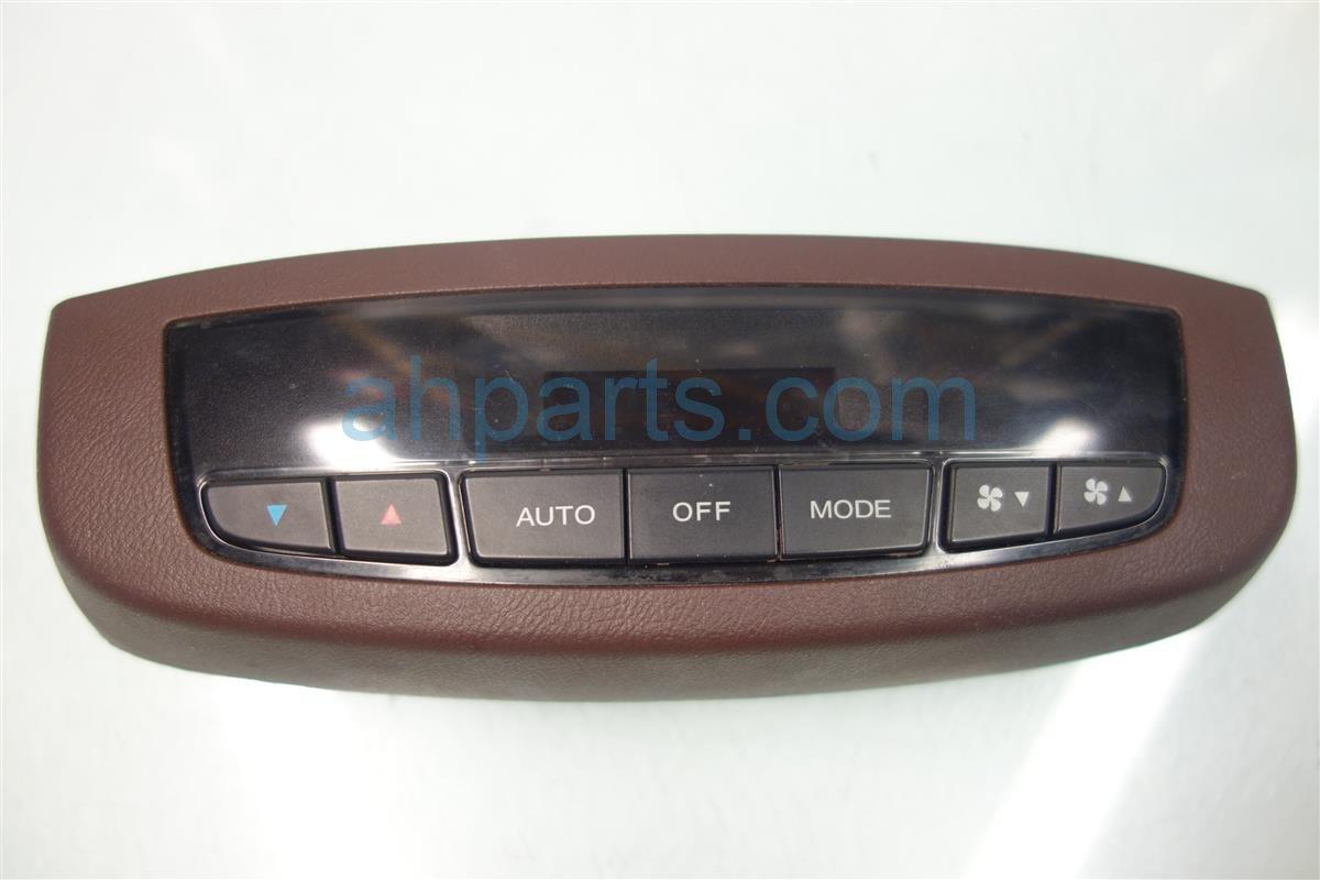2007 Acura MDX Temperature Climate HEATER AC CONTROL REAR 79650 STX A41ZA 79650STXA41ZA Replacement