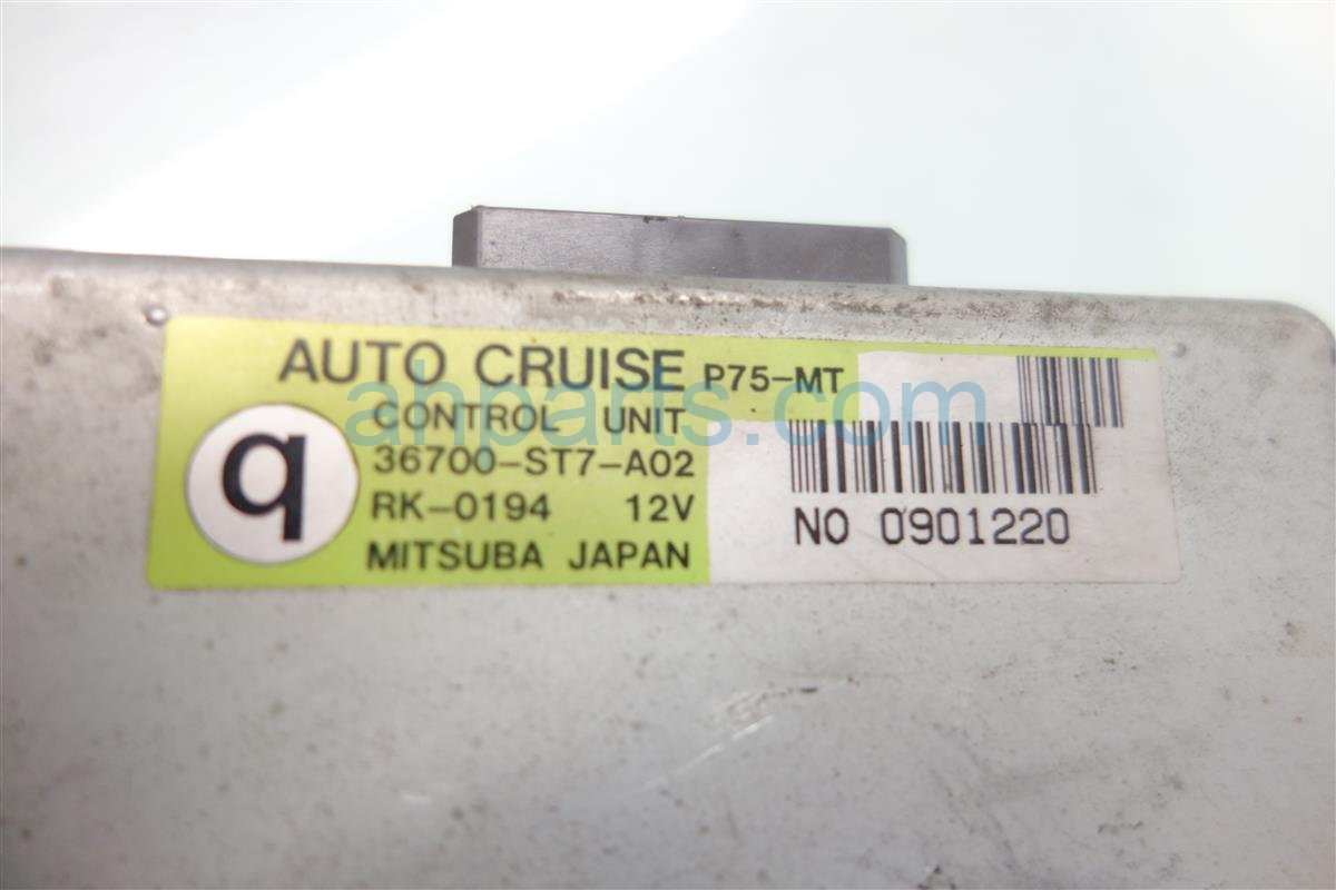 2001 Acura Integra AUTO CRUISE CONTROL COMPUTER 36700 ST7 A02 36700ST7A02 Replacement