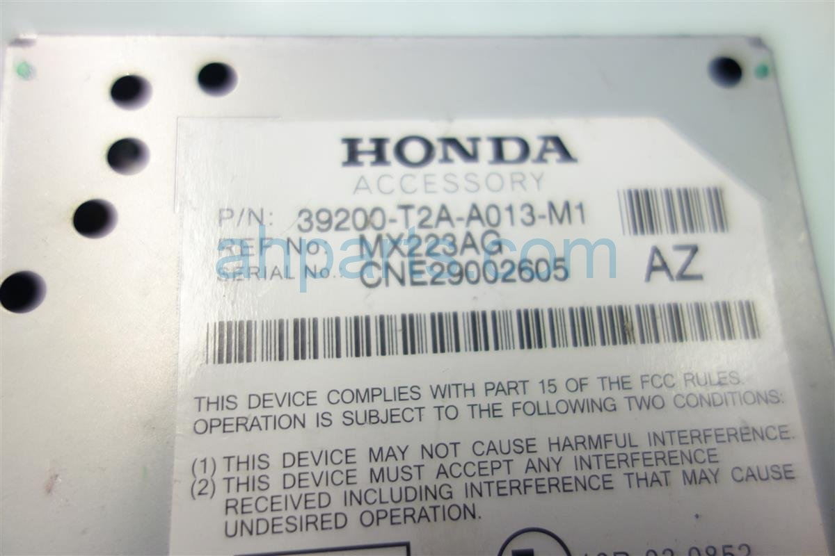 2013 Honda Accord ACTIVE NOISE CONTROL UNIT 39200 T2A A01 39200T2AA01 Replacement