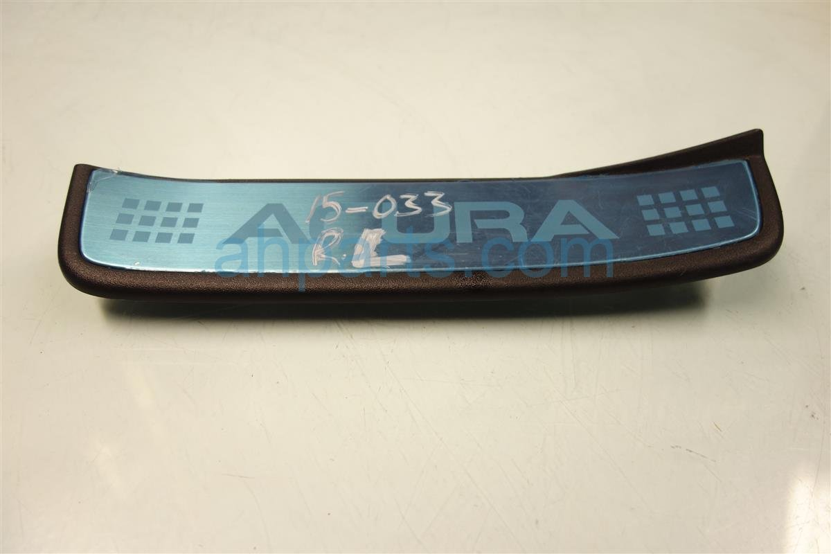 2008 Acura TSX Rear driver SIDE GARNISH 84262 SEC A01 84262SECA01 Replacement