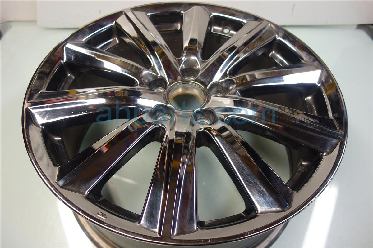 2014 Acura MDX Wheel 14 MDX RIM 10 SPK Rear passenger CHROME CURB Replacement