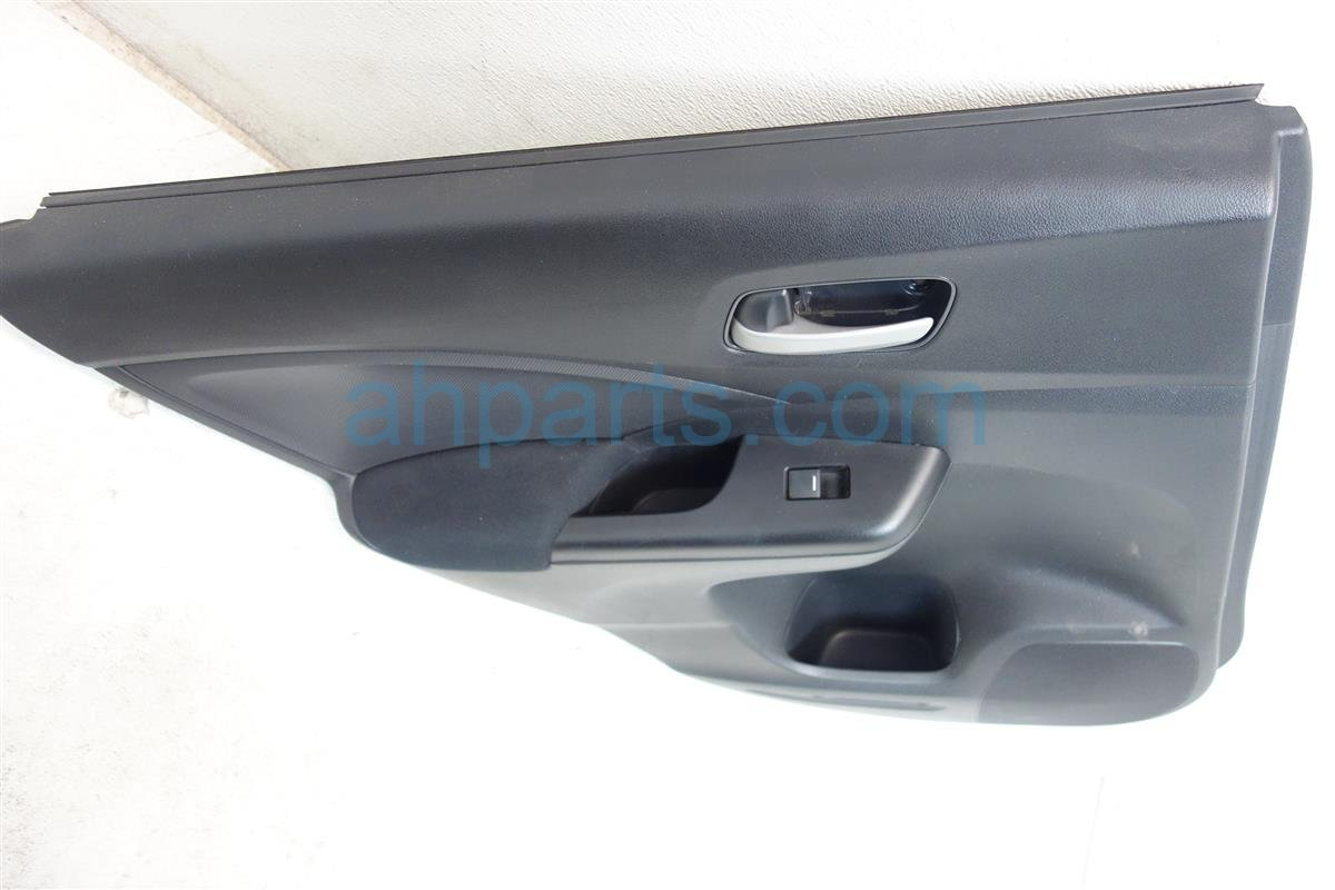 2012 Honda CR V Rear driver DOOR PANEL TRIM LINER black 83752 T0A A41ZB 83752T0AA41ZB Replacement