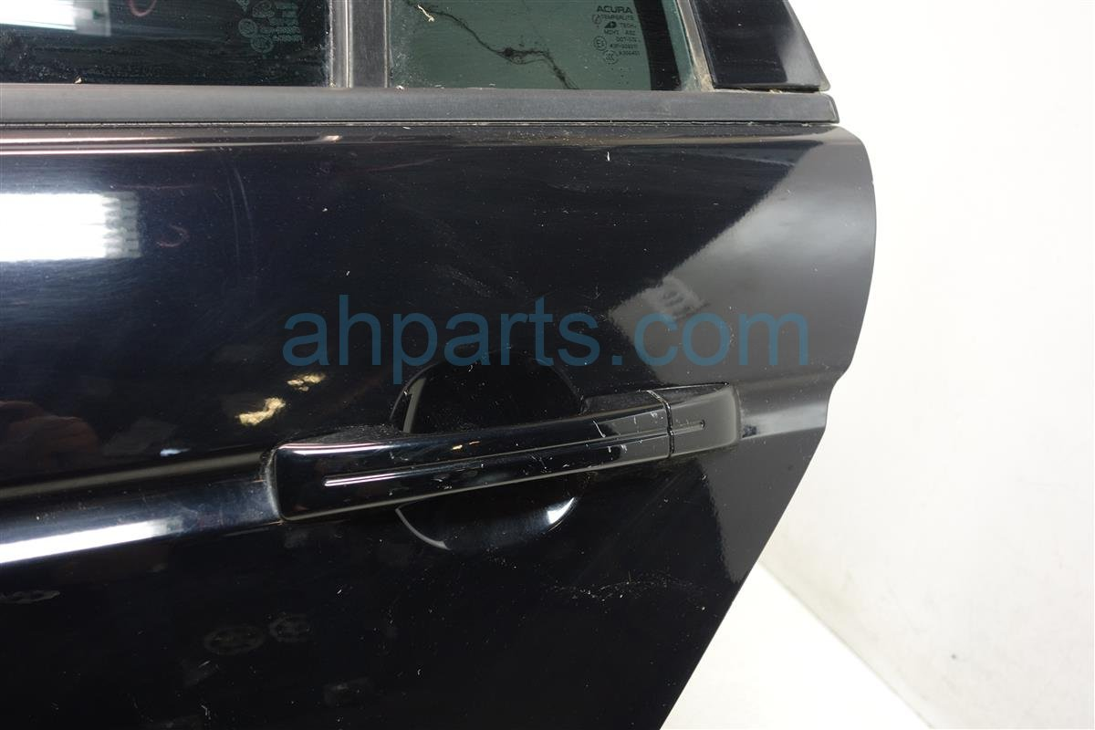 2007 Acura TL Rear driver DOOR BLK COVERED IN LIGHT SCR 67550 SEP A90ZZ 67550SEPA90ZZ Replacement