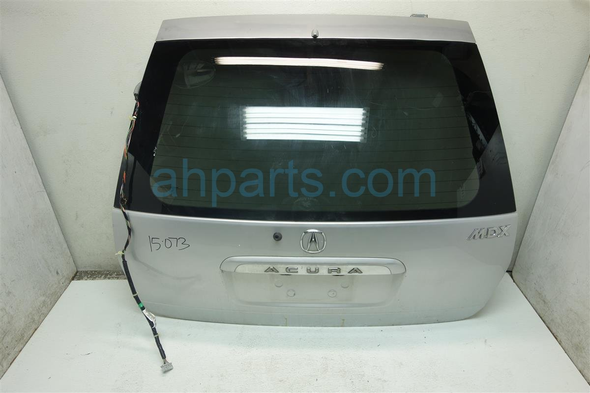 2002 Acura MDX Deck Lid REAR LIFTGATE TRUNK HATCH SILVER Replacement