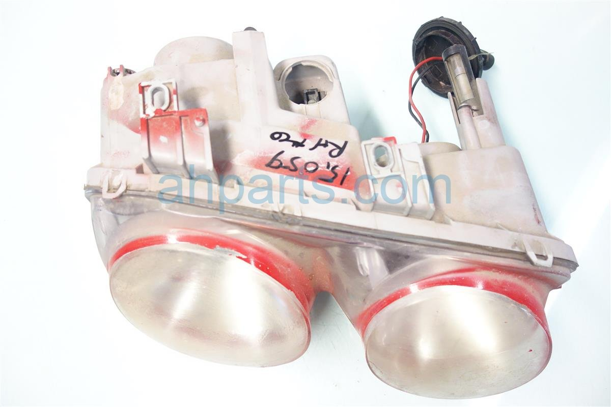 2001 Acura Integra Lamp Passenger HEADLIGHT Foggy lens Replacement