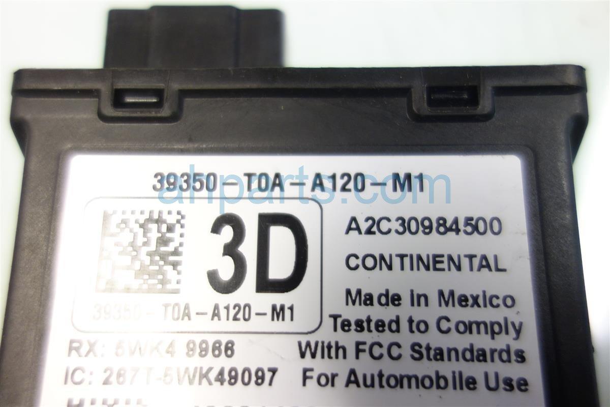 2012 Honda CR V TPMS UNIT 39350 T0A A12 39350T0AA12 Replacement