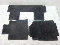 2012 Honda CR V FLOOR MATS BLACK 83600 T0A A01ZC 83600T0AA01ZC Replacement