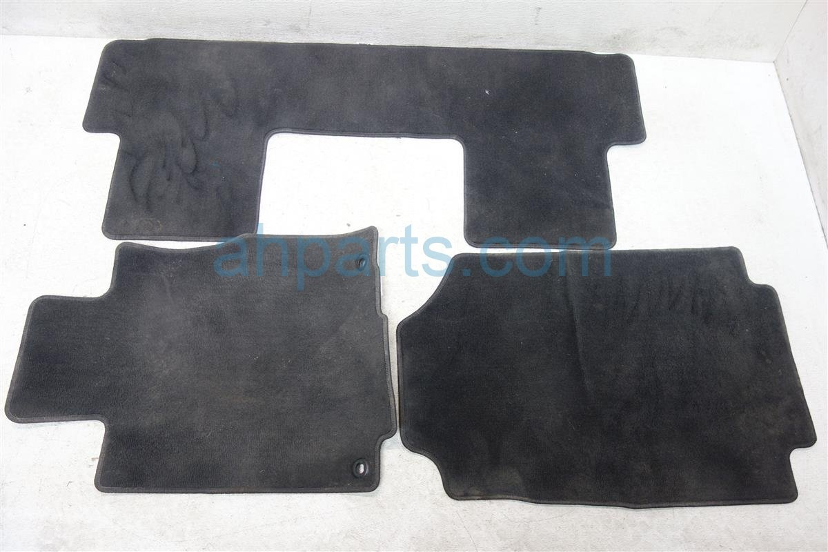2012 Honda CR V FLOOR MATS BLACK 83600 T0A A01ZC 83600T0AA01ZC Replacement