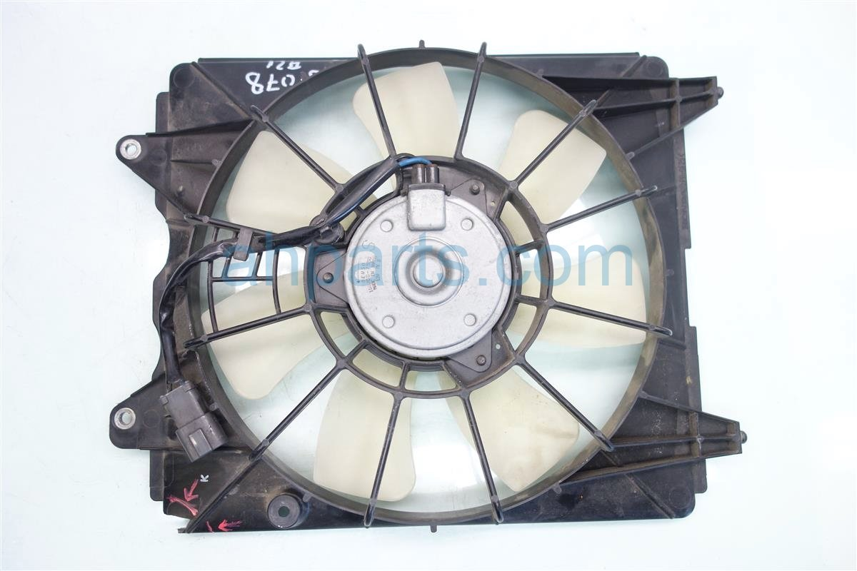 2008 Honda Civic Cooling AC CONDENSER FAN ASSEMBLY 38611 RMX A51 38611RMXA51 Replacement