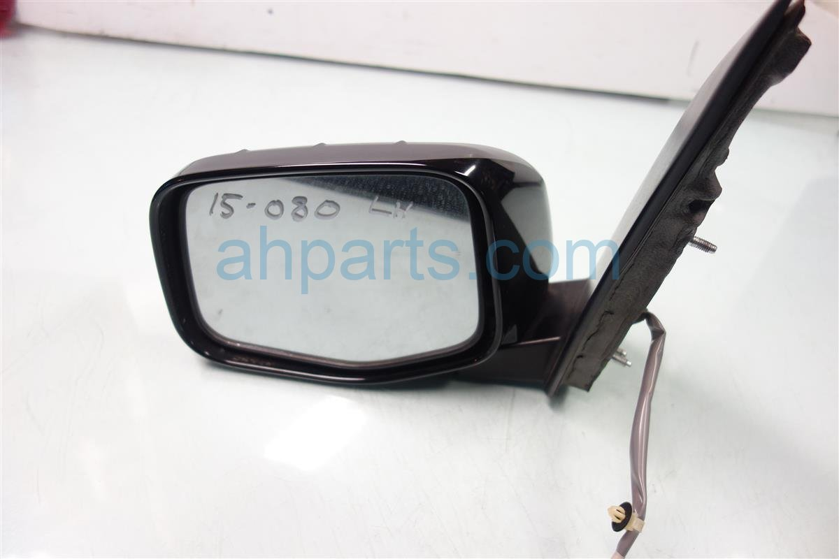 2011 Honda Odyssey Driver SIDE REAR VIEW MIRROR BLACK 76250 TK8 A11ZA 76250TK8A11ZA Replacement
