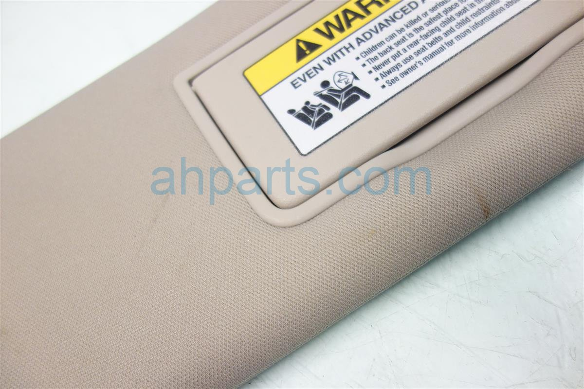 2011 Honda Odyssey Passenger SUN VISOR GRAY 83230 TK8 A01 83230TK8A01 Replacement