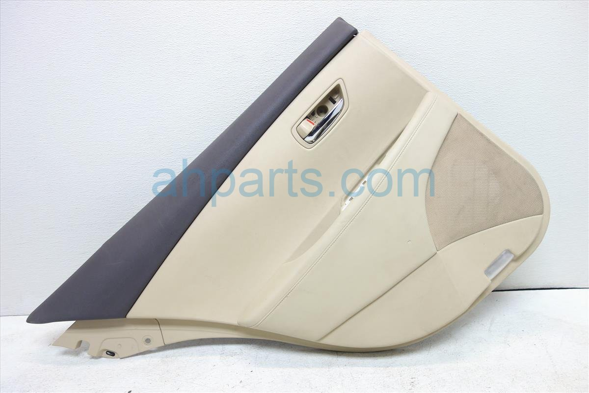 2007 Lexus Es 350 Trim liner Rear driver DOOR PANEL TAN 67640 33A50 A0 6764033A50A0 Replacement