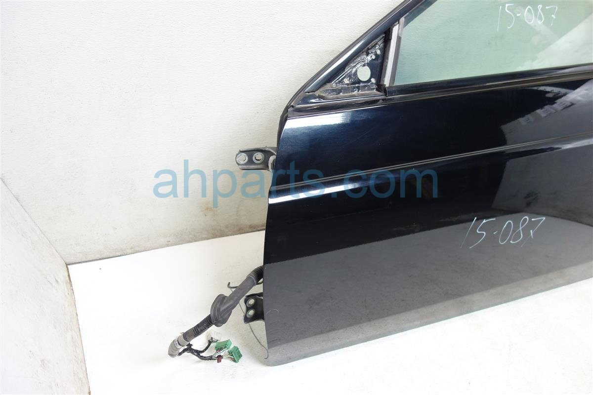 2007 Acura TL Front driver DOOR BLACK Replacement