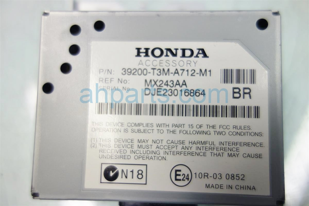 2014 Honda Accord ACTIVE NOISE CONTROL 39200 T3M A71 39200T3MA71 Replacement