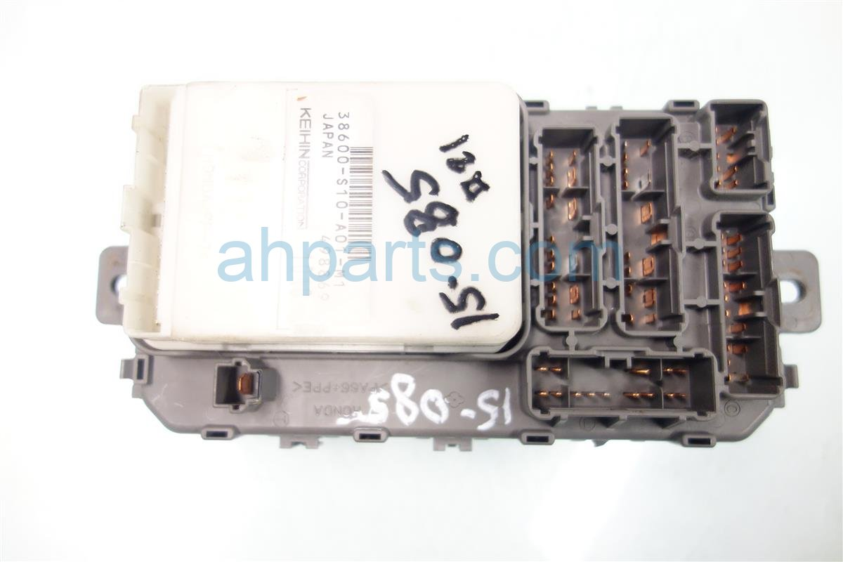 2001 Honda CR V DASH FUSE BOX W MULTIPLEX 38200 S10 A01 38200S10A01 Replacement