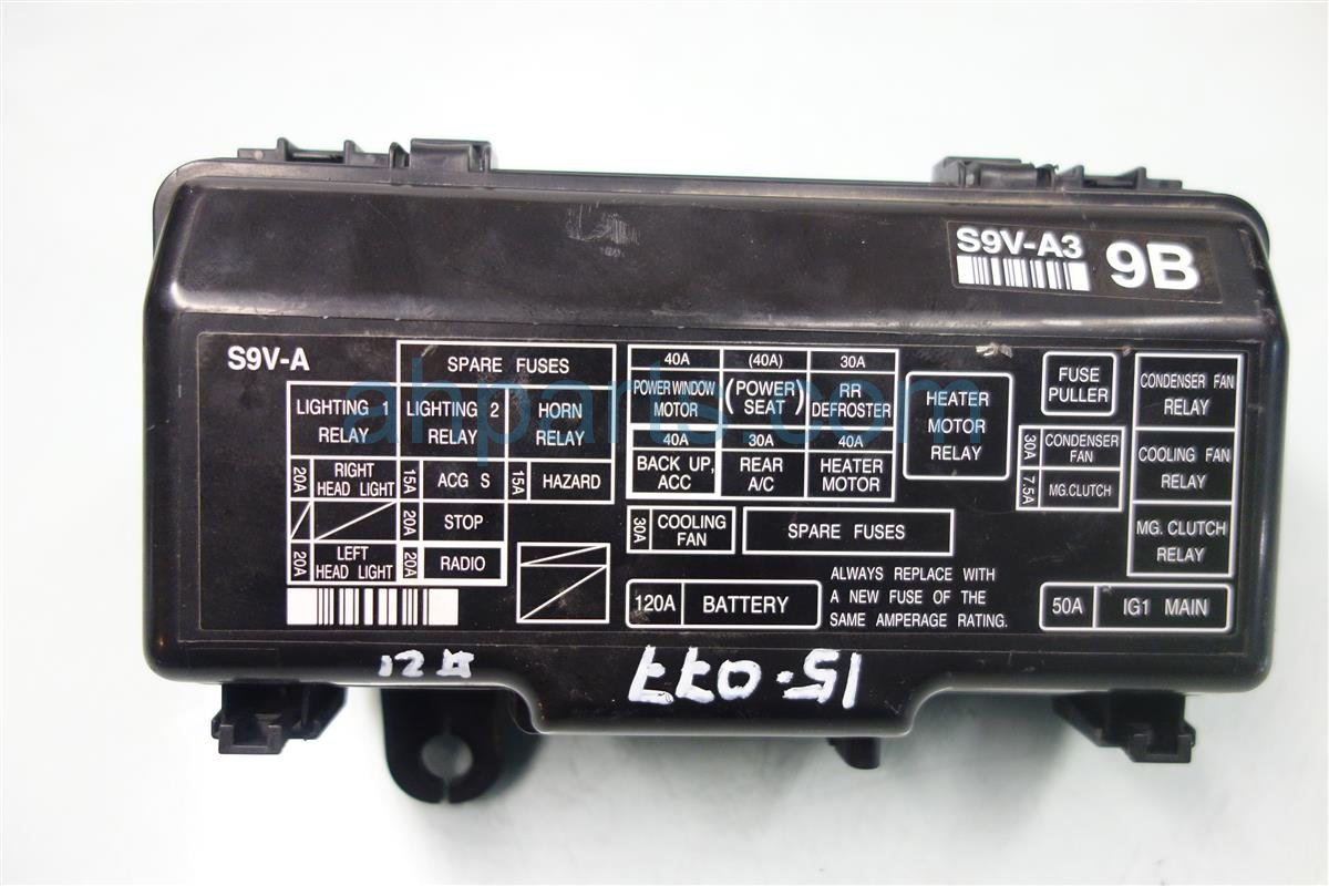 DSC01116 buy $85 2007 honda pilot engine fuse box 38250 s9v a32 38250s9va32 honda pilot 2007 fuse box diagram at pacquiaovsvargaslive.co