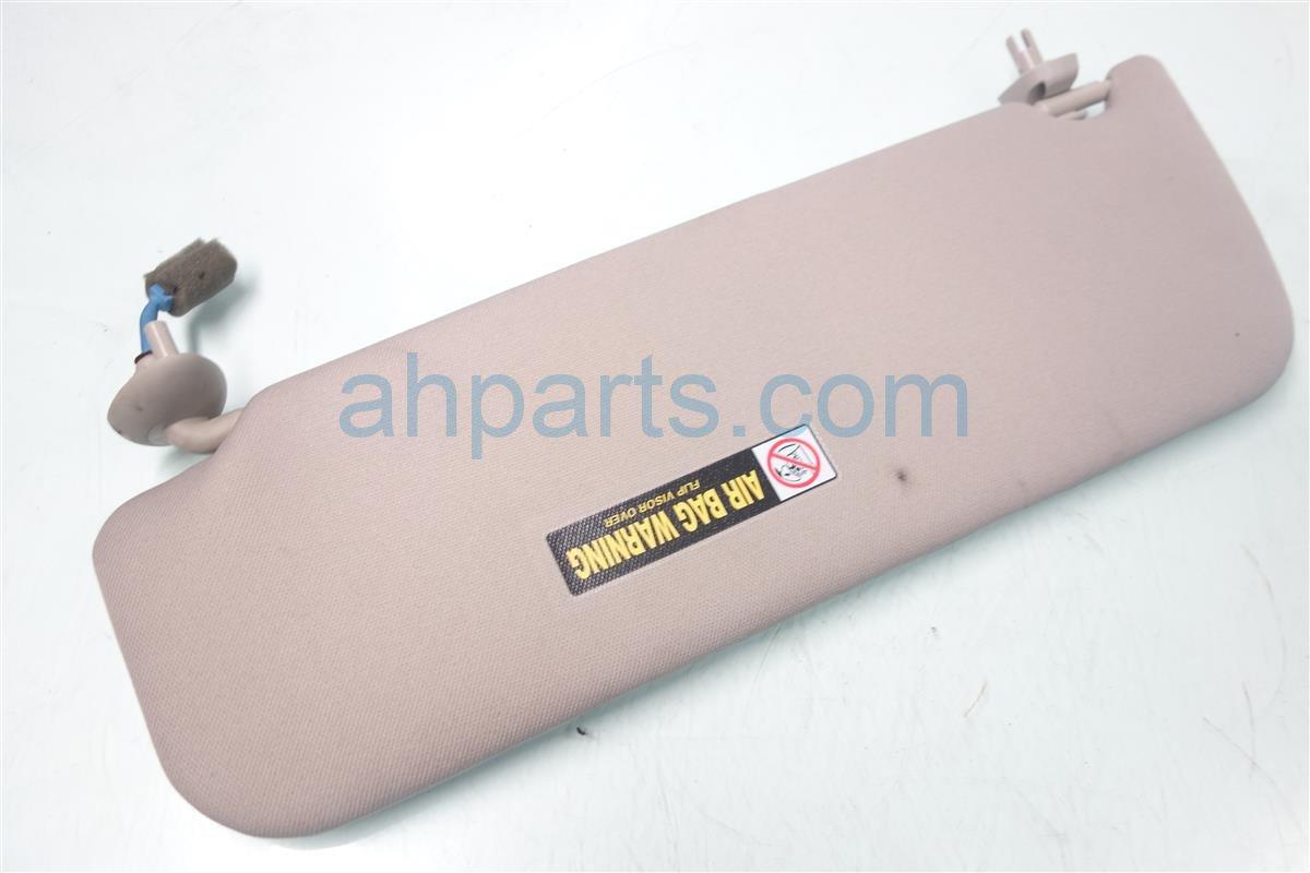 2011 Honda Odyssey Passenger SUN VISOR GRAY NEEDS CLEANING 83230 TK8 A01ZA 83230TK8A01ZA Replacement