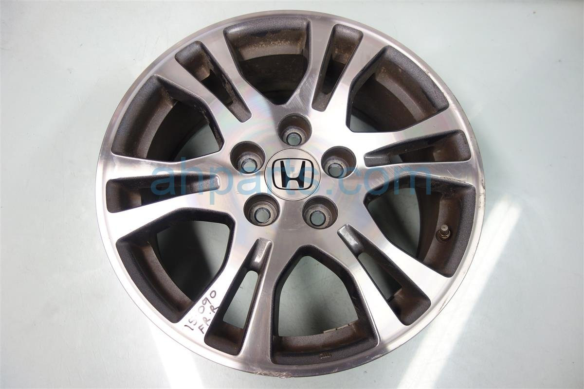 2011 Honda Odyssey Rim Front passenger 17 6 DOUBLE SPOKE WHEEL 42700 TK8 A11 42700TK8A11 Replacement