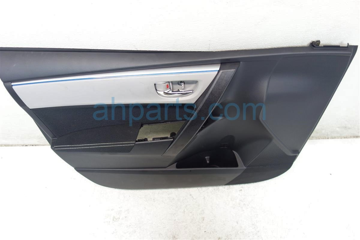 2015 Toyota Corolla Front driver DOOR PANEL TRIM LINER BLACK 6762002R2122 Replacement