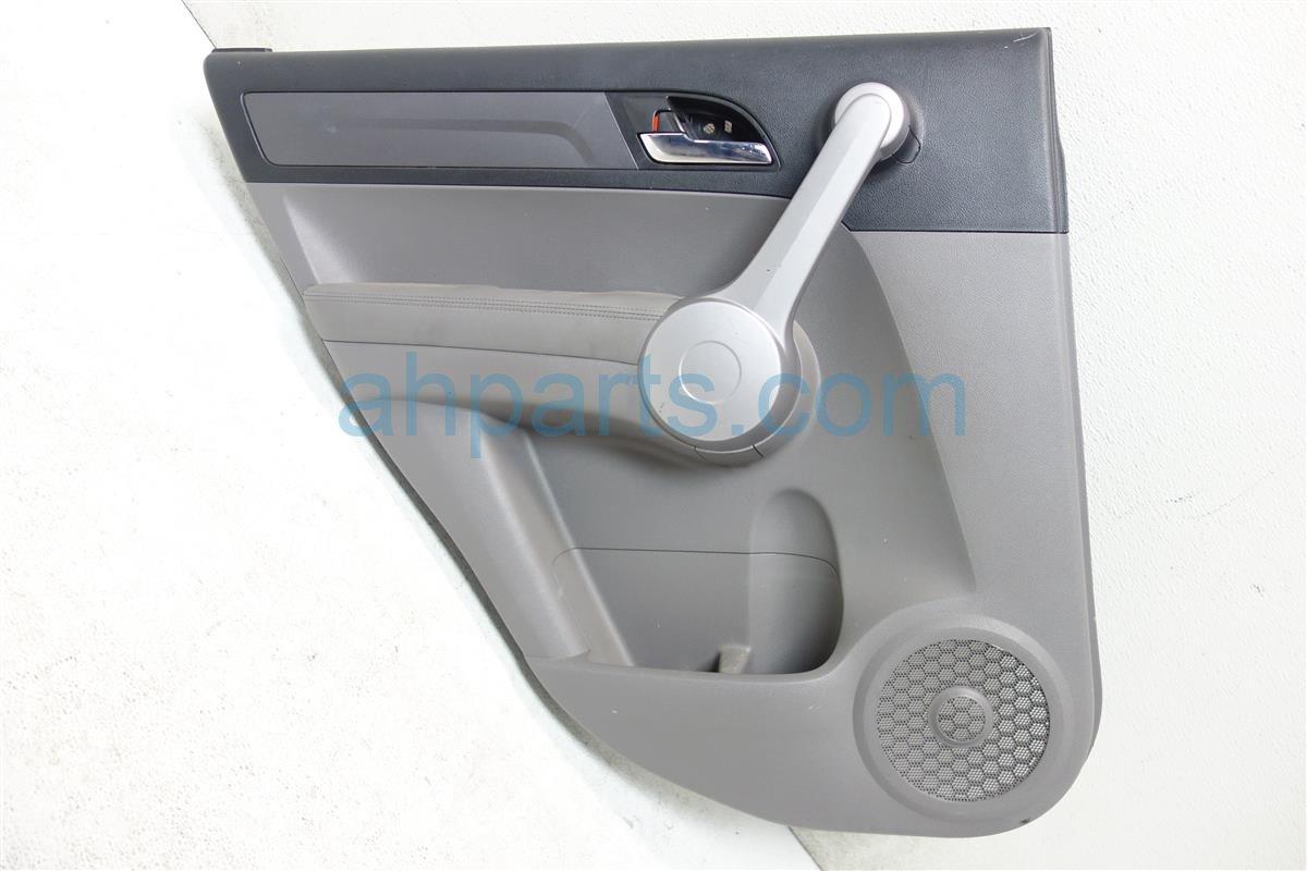 2007 Honda CR V Rear driver DOOR PANEL TRIM LINER GRAY 83751 SWA A01ZA 83751SWAA01ZA Replacement