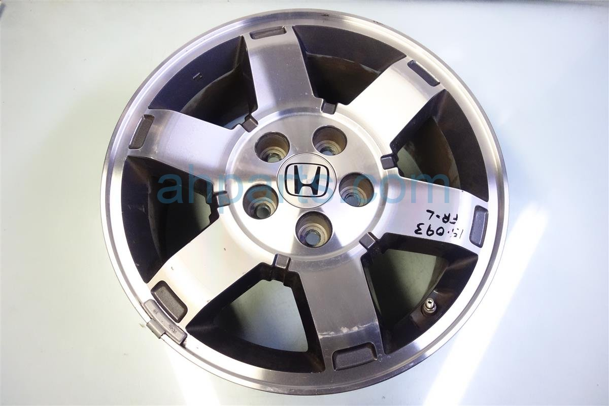 2009 Honda Pilot Front driver WHEEL RIM 17 6 spoke 42700 SZA A61 42700SZAA61 Replacement