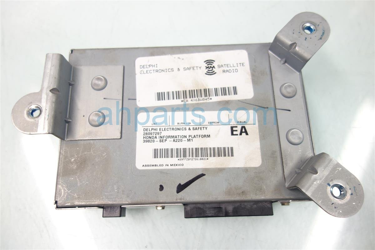 2008 Acura TL XM UNIT 39820 SEP A22 39820SEPA22 Replacement