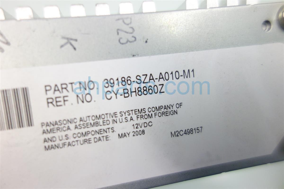 2009 Honda Pilot AMPLIFIER 39186 SZA A01 39186SZAA01 Replacement