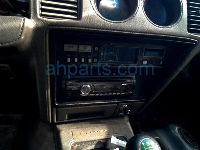 1984 Nissan 300ZX Lampe Passenger Headlight Assembly, Grå-9873